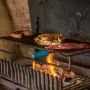 The barbecue in the Cuisine d'ete